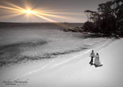 Aerial Wedding